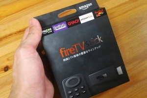 Amazon Fire TV stick本体