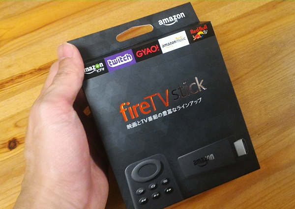 Amazon Fire TV stick本体