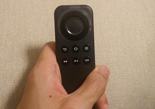 AmazonFireTVstickのリモコン