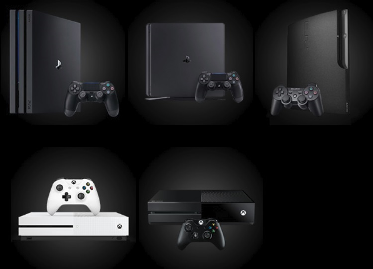 Xbox、Playstation3.4