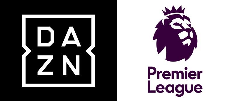 DAZNとプレミアリーグのロゴ