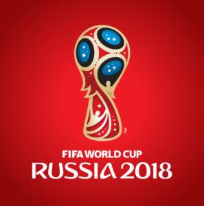 ロシアワールドカップ2018のロゴ