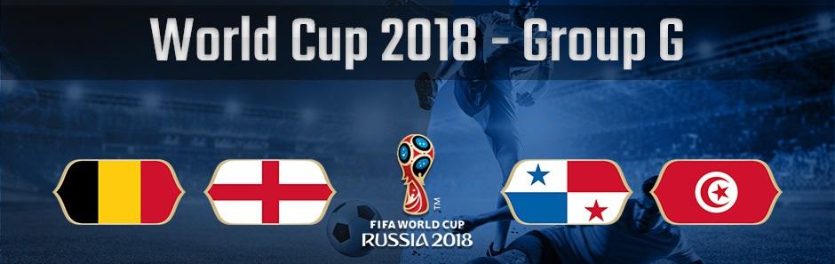 ロシアワールドカップグループG、ベルギー、イングランド、パナマ、チュニジアの国旗