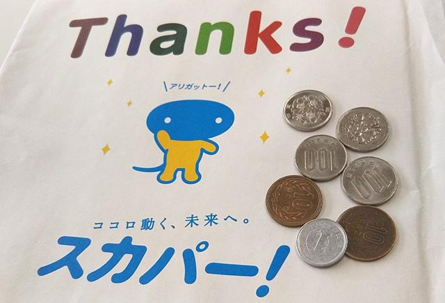 スカパー!加入者へのThanks冊子と421円