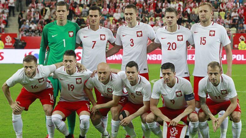 ロシアワールドカップに挑むポーランド代表チーム