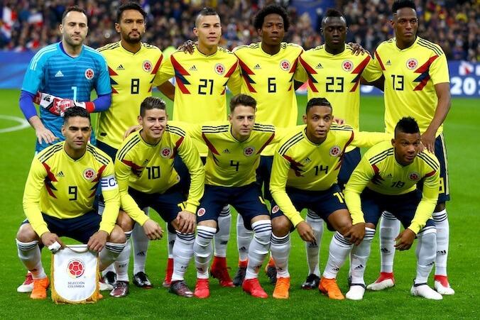 ロシアワールドカップに挑むコロンビア代表メンバー