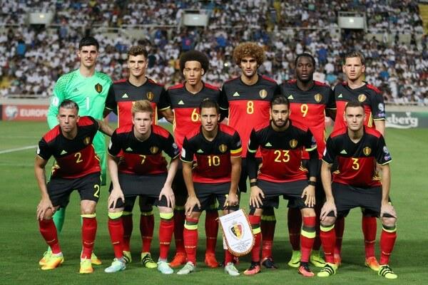 ロシアワールドカップに挑むベルギー代表チーム