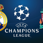 17-18チャンピオンズリーグ決勝、レアルマドリードとリバプールのクラブエンブレム