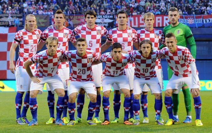 ロシアワールドカップに挑むクロアチア代表メンバー