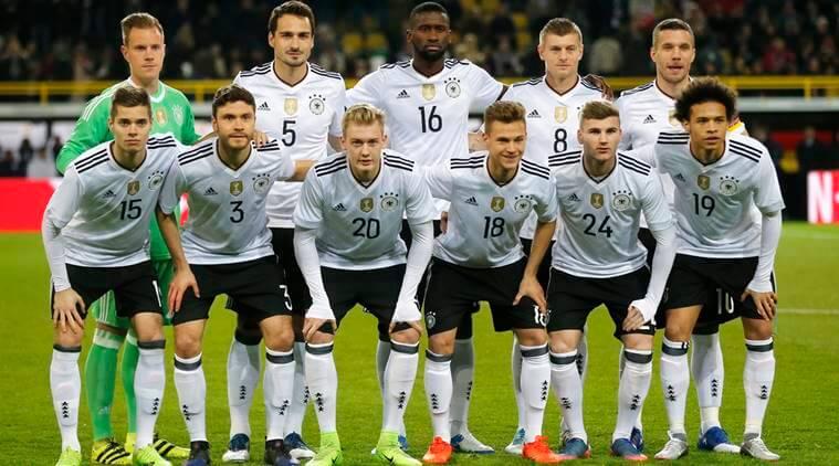 ロシアW杯に挑むサッカードイツ代表チーム