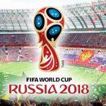 ロシアワールドカップの宣伝ロゴ