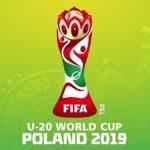 U-20ワールドカップポーランド2019の公式ロゴ